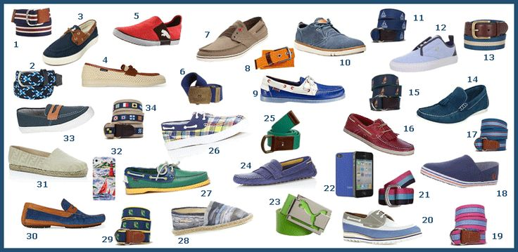 men's shoes john galliano BLUE AND WHITE pics | Fun Summer Shoes & Belts for Men