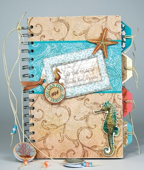 Oceanic photo album and/or journal - beach vaca/ gift?