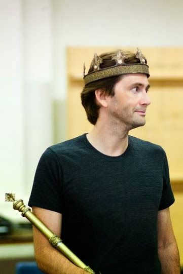 PHOTOS: David Tennant In Richard II Rehearsals
