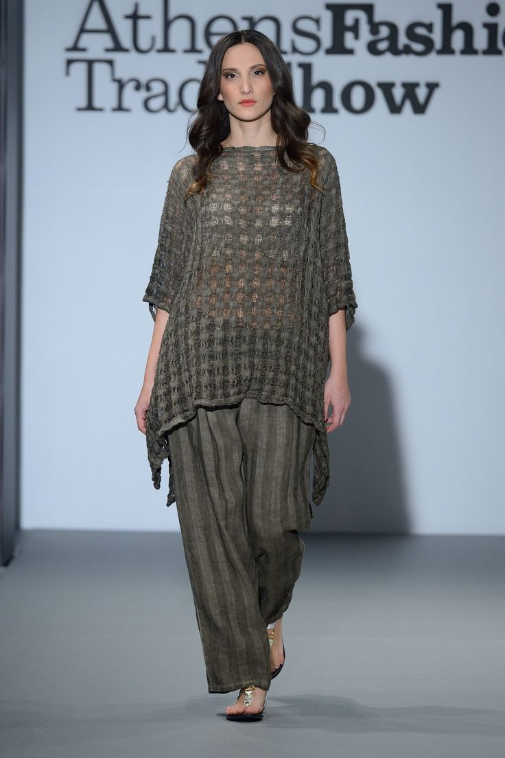 Amazing summer linen fish net top...  100% Natural fabrics