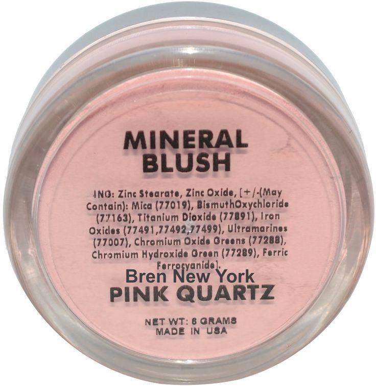 Pink Quartz Mineal Blush Shade