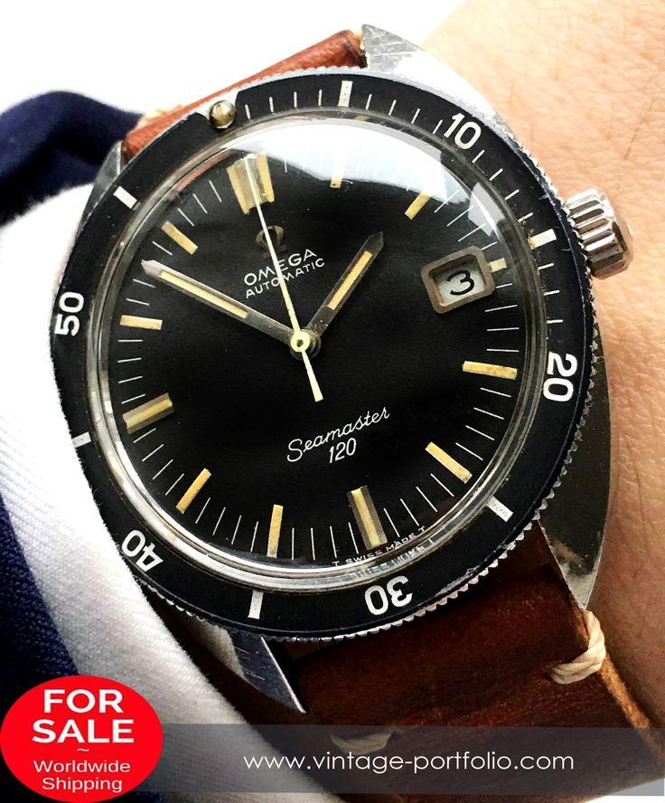 Perfect Omega Seamaster 120 Automatik Automatic Vintage 37mm Date #omega #omegawatches #omegaseamaster #seamaster #militarywatches