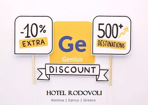 Genius Program from Booking.com. Make your Booking Genius reservation in Hotel Rodovoli with 10% discount, NOW ...
