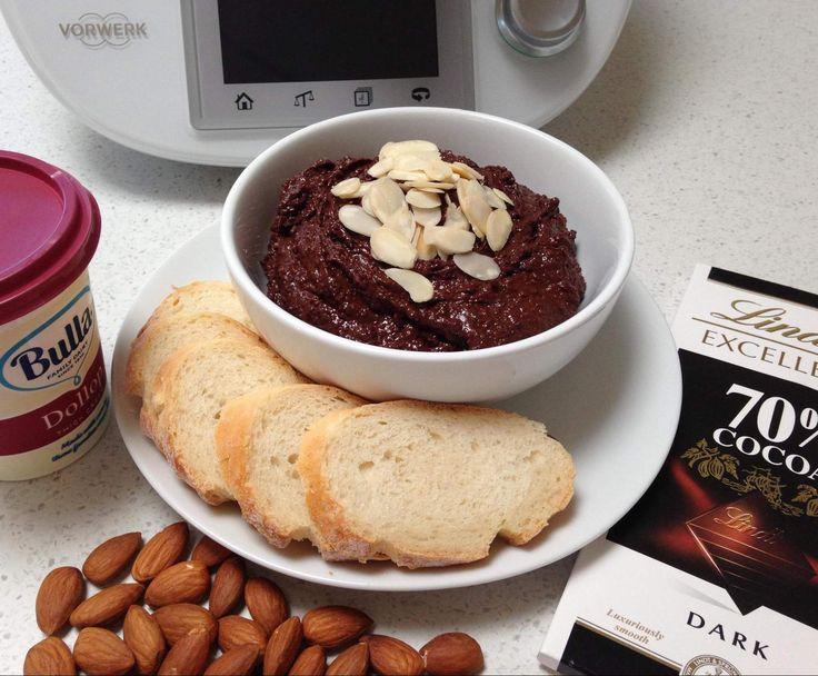 Recipe Almond chocolate spread by J Mollica - Recipe of category Sauces, dips & spreads