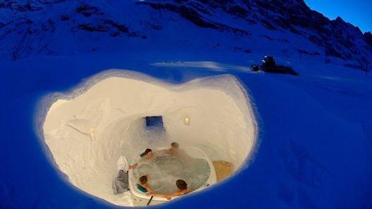 Hoteles de hielo: la excusa perfecta para dormir bien acurrucaditos