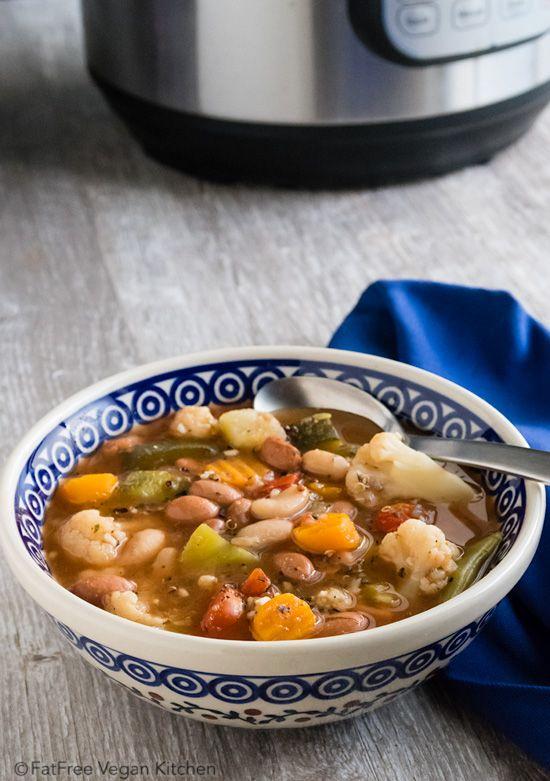 60 best vegan instant pot pressure cooker images on pinterest instant pot vegetable soup forumfinder Images