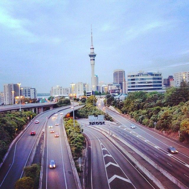 View from Hopetoun bridge #Auckland #NewZealand #Aotearoa #NZ