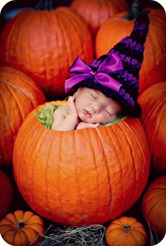 Falling asleep in a pumpkin...