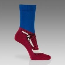 Paul Smith Socks - Indigo Brogue Pattern Socks