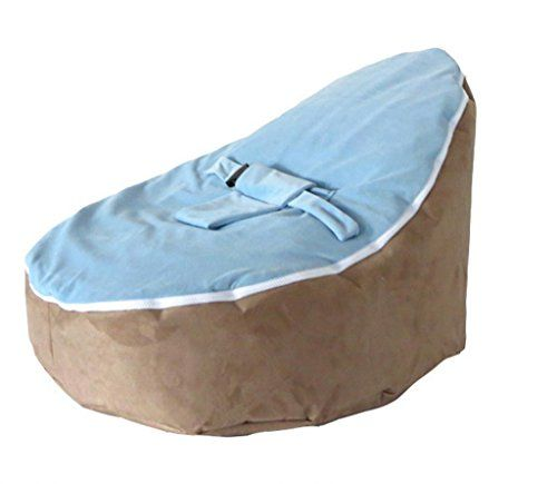 Best Price On LCY Baby Bean Bag Chair Brown Blue UNFILLED See Details Here