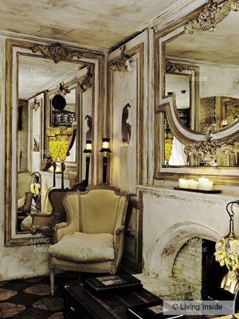 Mirrors, mirrors everywhere . . .