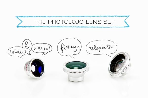 Photojojo iPhone and Android Lens Set - 4 lenses. Perfect for your teen who likes to take photos!