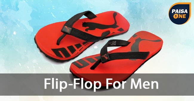 Men's Flip-Flops & Slipeers on February 27 2017. Check details and Buy Online, through PaisaOne.