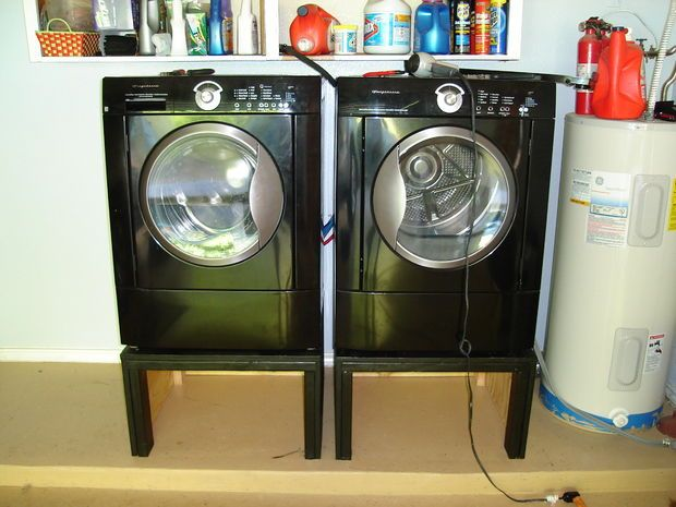 DIY Washing machine stand for $30