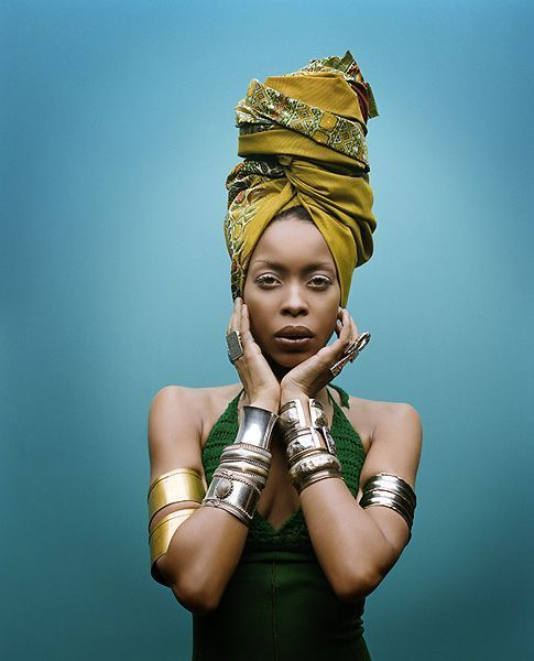 Erykah Badu... Have been listening to her music/poetry from the beginning and it's always been an inspiration ti me....