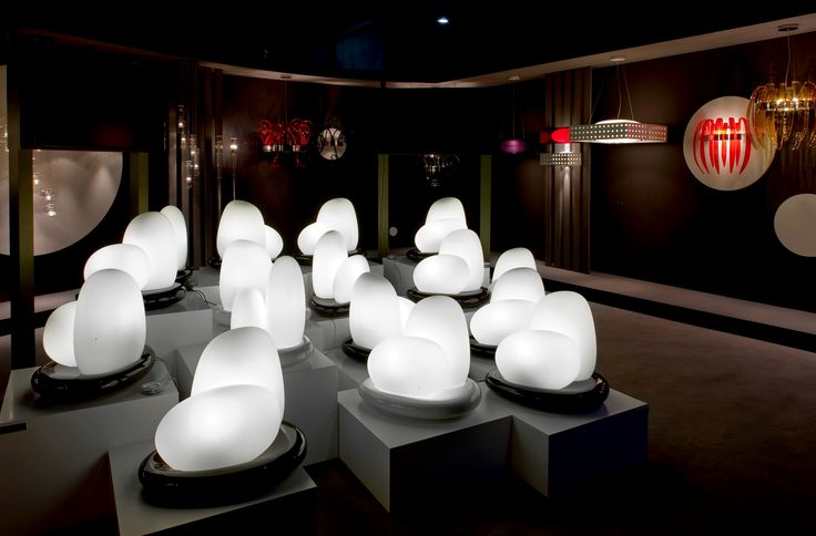 Moai design by Defne Koz for Leucos. Soft and clean shapes, as white stones smoothed by water in the course of thousands years!