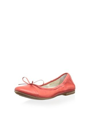 70% OFF Romagnoli Kid's Ballet Flat (Red)