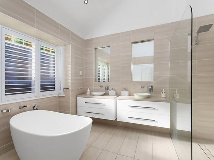 Bathroom Tiles Neutral stone beige and white a neutral colour scheme for the bathroom