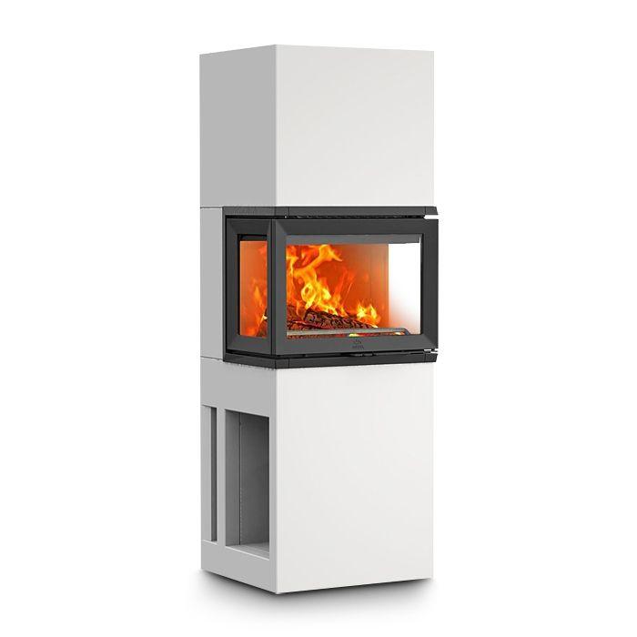 Kaminbausatz Jotul FS73 jetzt ansehen ✓ 3 seitige Verglasung ✓ 7 kW + Wärmespeicher ✓ Lastschrift ✓ Montageservice
