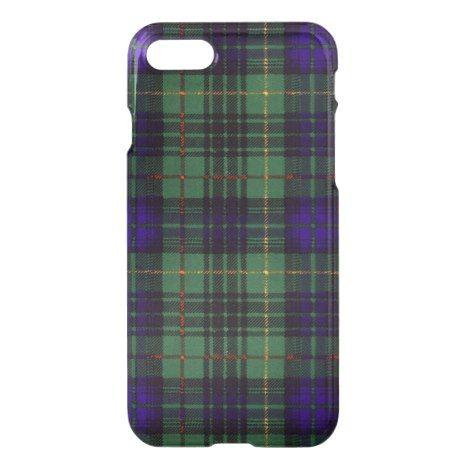 Conacher clan Plaid Scottish kilt tartan iPhone 8/7 Case #tartan #protective #cases