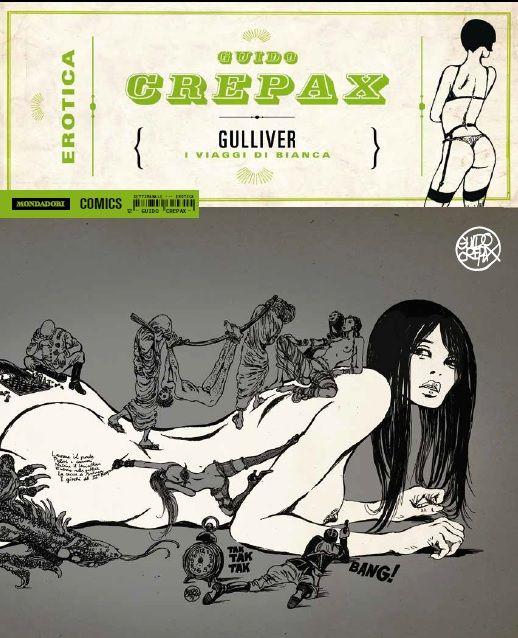 GUIDO CREPAX - EROTICA VOL.12: GULLIVER - I VIAGGI DI BIANCA
