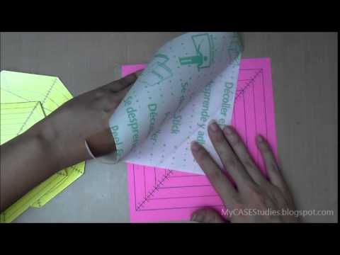 Cyndie's Templates for Use with the MISTI - Part1 - YouTube