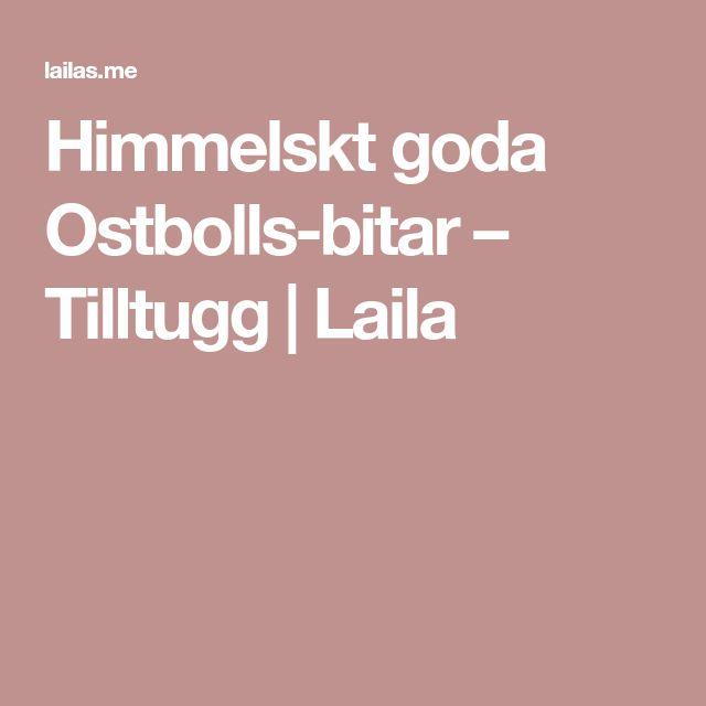 Himmelskt goda Ostbolls-bitar – Tilltugg   Laila