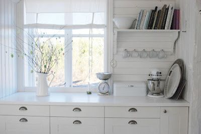 Clean white Scandi lines and detail - Love it all!
