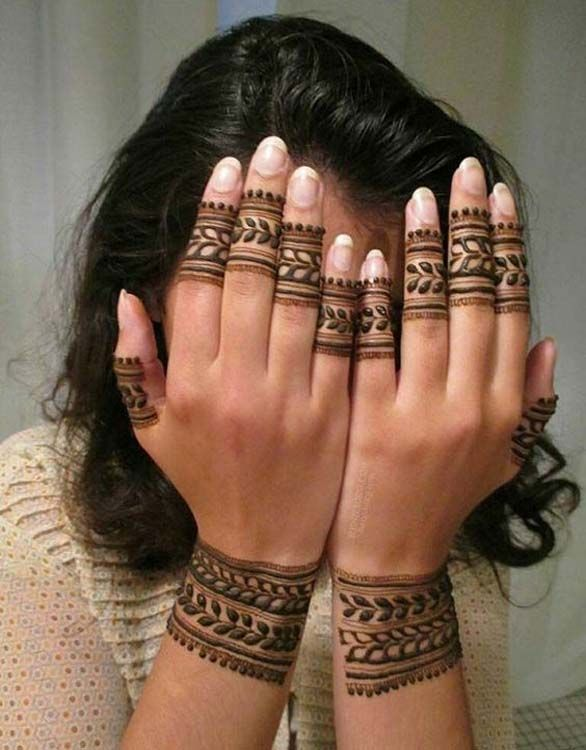 Mehandi Designs And Patterns To Choose From In 2018