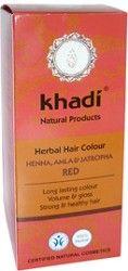 Khadi Pflanzenhaarfarbe Henna, Amla & Jatropha Rot