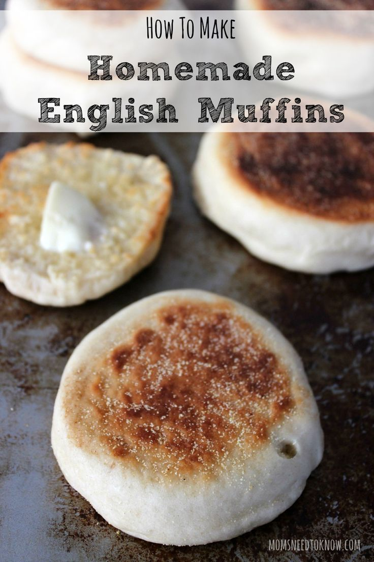 How To Make Homemade English Muffins | This recipe is so stinkin' easy that you will never go back to store-bought again!