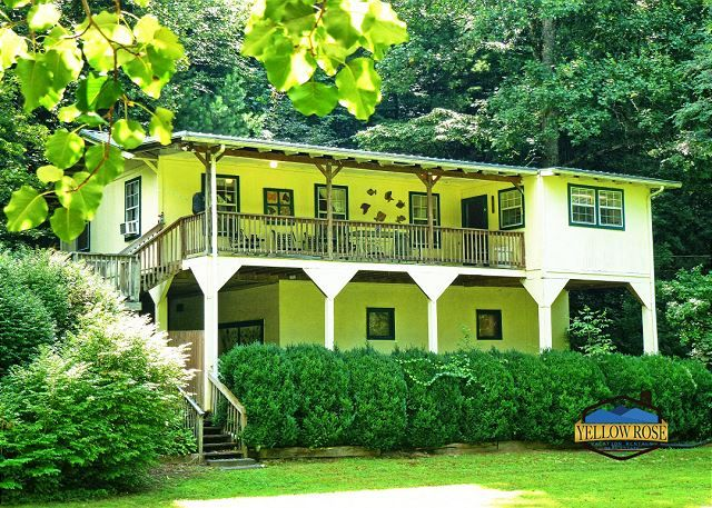 Bryson City Nc United States Trout Run Yellow Rose Real Estate Vacation Rentals Bryson City Vacation Rental Vacation