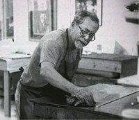 Warrington Colescott | Wisconsin Visual Art Lifetime Achievement Awards