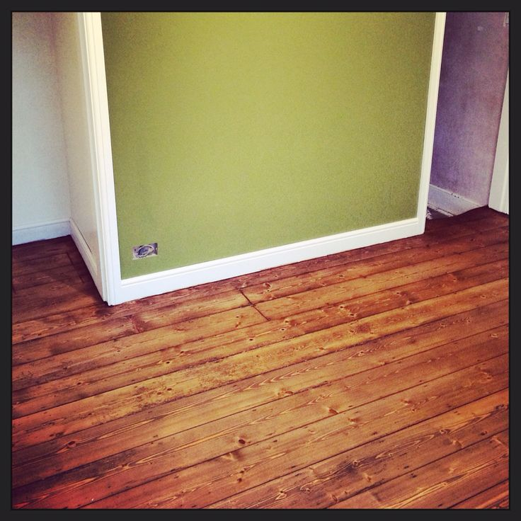 Pine Flooring Finished With Osmo Antique Oak Hardwax Oil