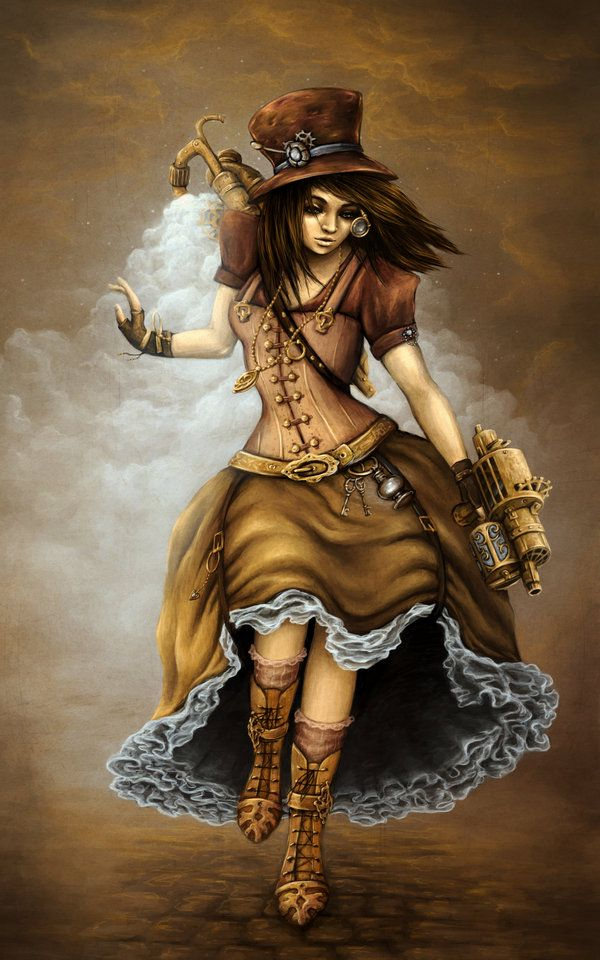 #steampunk lady