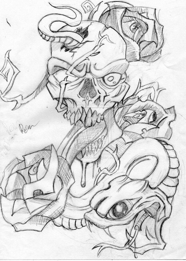 38 best Evil Tattoo Outlines images on Pinterest Evil tattoos