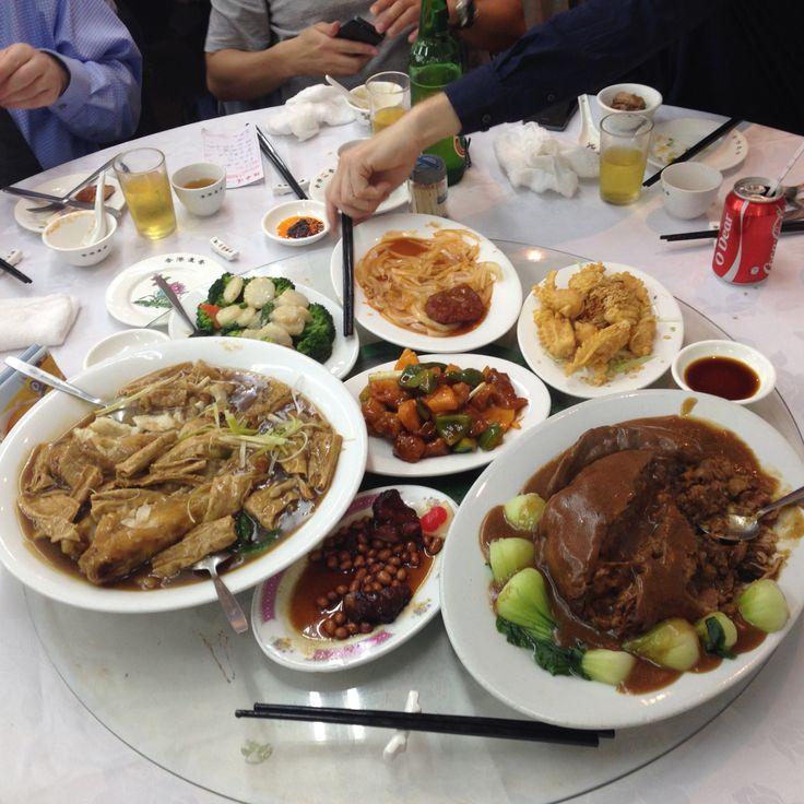 Spisning i Hong Kong ..