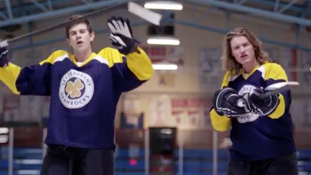 Letterkenny pop-up in Toronto | Fans of the series will have a chance to purchase memorabilia including T-shirts, hoodies, toques customized Letterkenny Shamrocks and Letterkenny Irish hockey jerseys and much more. Aside from all of that, fans will get a chance to take photos on a rebuilt set from the series, including the hockey dressing room and produce stand.