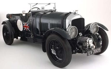 """Bentley 4½ litre """"Blower"""" (1929 to 1931) – Engine: 4,398.25cc, four-cyl, Top Speed: 100mph plus, 0-60mph: 8sec  Economy: 10mpg"""