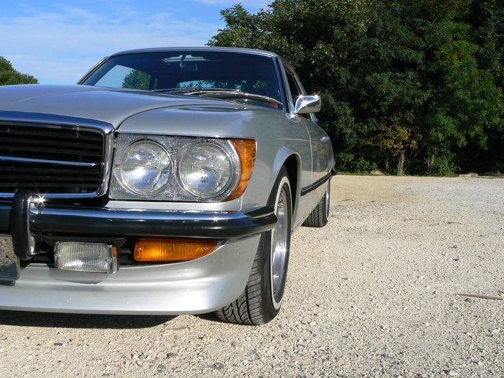 Mercedes W107 450SLC (1972) Finished