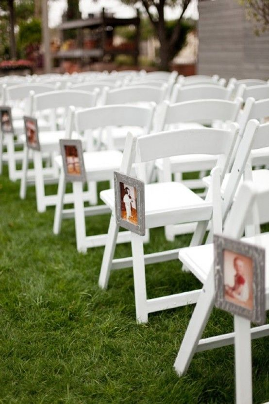63 best the wedding aisle images on pinterest wedding aisles cute aisle decor idea hang pictures of the bride groom growing up the photos show them getting older as they get closer to the alter junglespirit Image collections