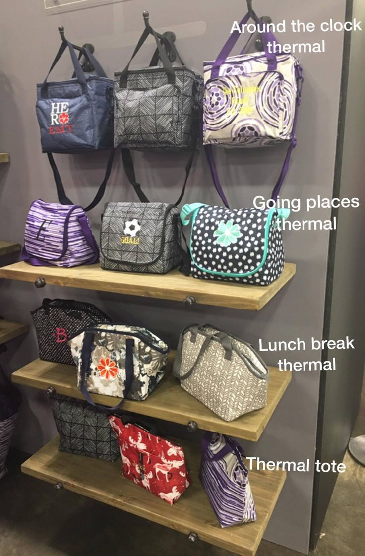 Fall 2017 thirty-one gifts thermals! So many choices for patterns, personalization, and sizes! Get ready for back to school in STYLE this year!  Www.mythirtyone.com/108706