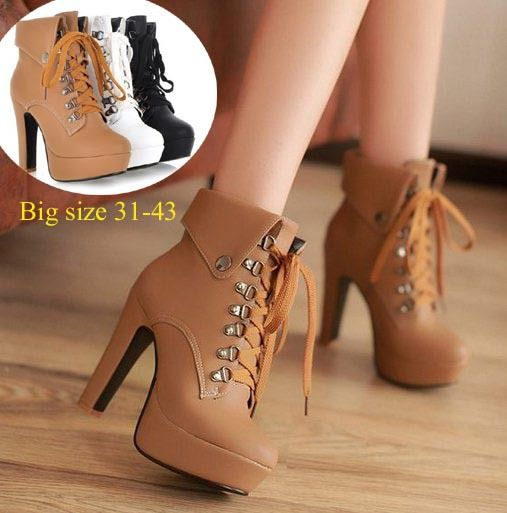 a7041dbc0d7a6f women shoes heels shoes high heels. Botte talon cuir a lacets. Botte talon  cuir a lacets