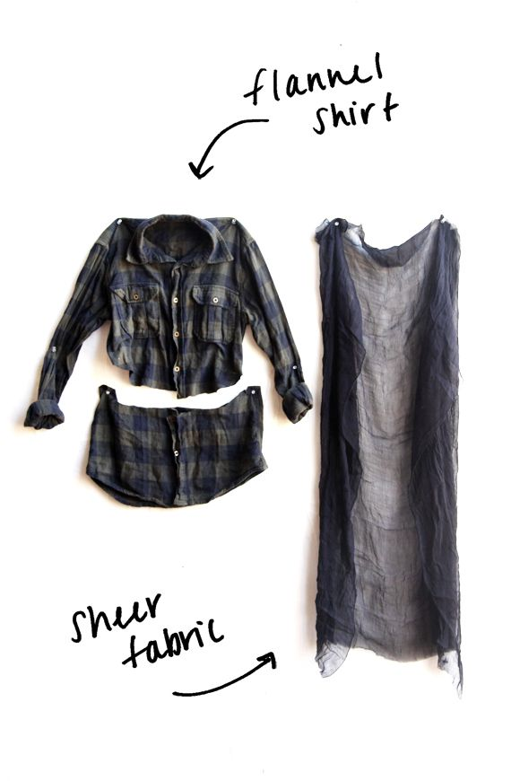 DIY Grunge Flannel And Giveaway!
