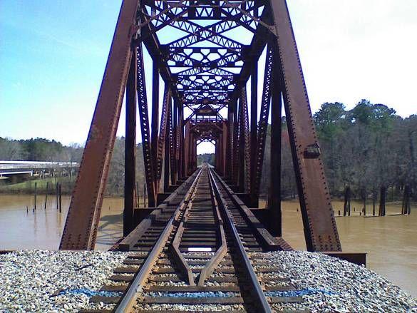 Photos Of Hazlehurst Georgia Ga Lumber City Rr Bridge Close Up 2 Interesting Stuff And Bridges