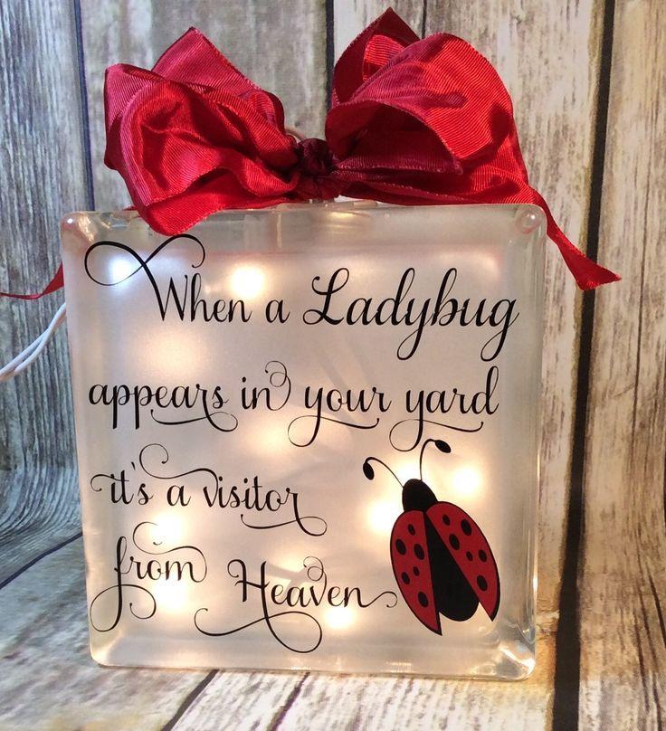 #Ladybug Quote Print