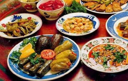 Food Middle East/North Africa - Eten Midden Oosten/Noord Afrika ( Turks )
