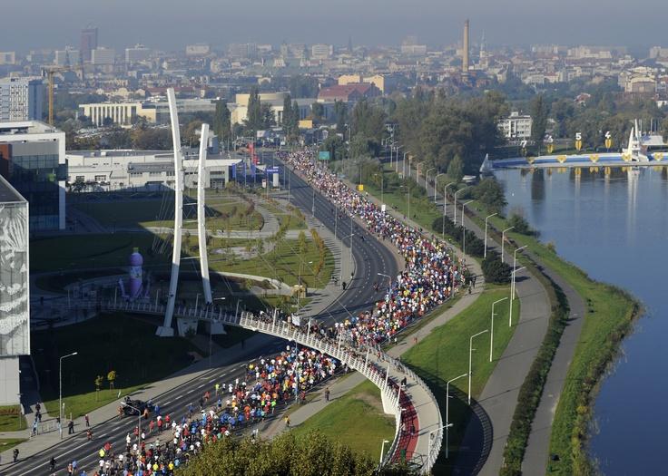 Poznan Poland, 4.Poznań Półmaraton, ul. Abp. A. Baraniaka [fot. Marek Kaczmarczyk]
