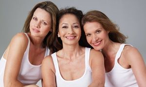 Groupon - One, Two, or Three Dark-Spot or Rosacea Laser Treatments at Polished Radiance Laser Medispa (Up to 70% Off) in Glenmore - Clifton Dilworth. Groupon deal price: C$69