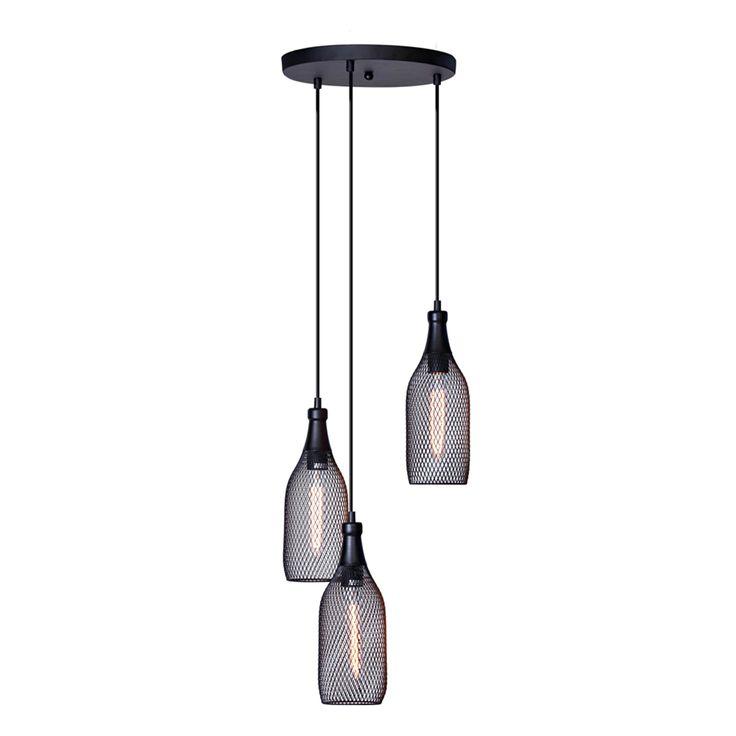 Home Design 128cm 240V Tre 3 Light Pendant | Bunnings Warehouse